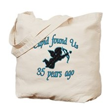 Unique 35th wedding anniversary Tote Bag