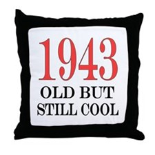 1943 Throw Pillow