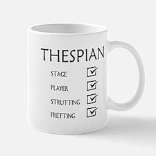Thespian Checklist Mug