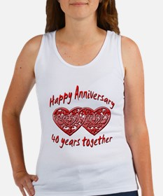 Funny 40th Women's Tank Top