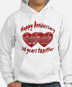 Funny 40th party Hoodie