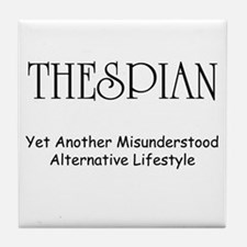Misunderstood Thespian Tile Coaster