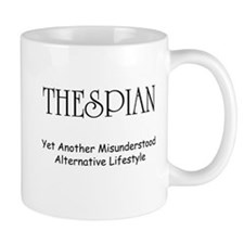 Misunderstood Thespian Mug