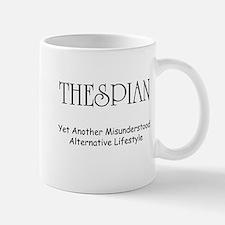Misunderstood Thespian Mug