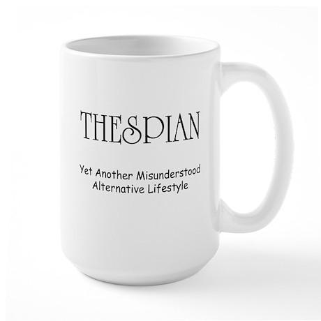 Misunderstood Thespian Large Mug