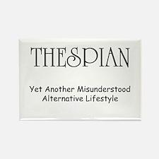 Misunderstood Thespian Rectangle Magnet (10 pack)