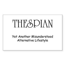 Misunderstood Thespian Decal
