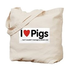 ...but I couldn't manage a whole one Tote Bag