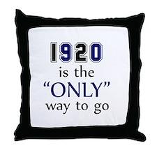 1920's Throw Pillow