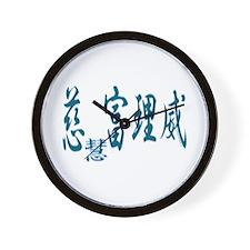 Jeffrey in Kanji -3- Wall Clock