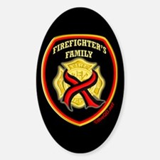 ThinRedLine FirefighterFamily Decal
