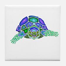 Tortoise Totem Tile Coaster
