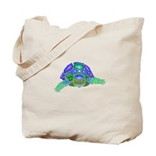 Tortoise Totem Tote Bag