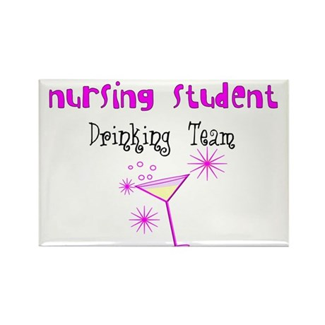 More Student Nurse Rectangle Magnet (10 pack)