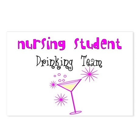 More Student Nurse Postcards (Package of 8)