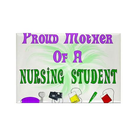 More Student Nurse Rectangle Magnet (100 pack)