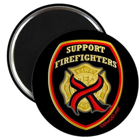 "ThinRedLine SupportFirefighte 2.25"" Magnet (100 pa"