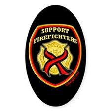 ThinRedLine SupportFirefighte Decal