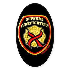 ThinRedLine SupportFirefighte Stickers