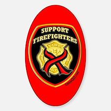 ThinRedLine SupportFirefighte Sticker (Oval)