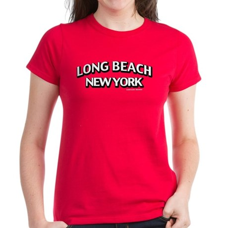 Long Beach Women's Dark T-Shirt