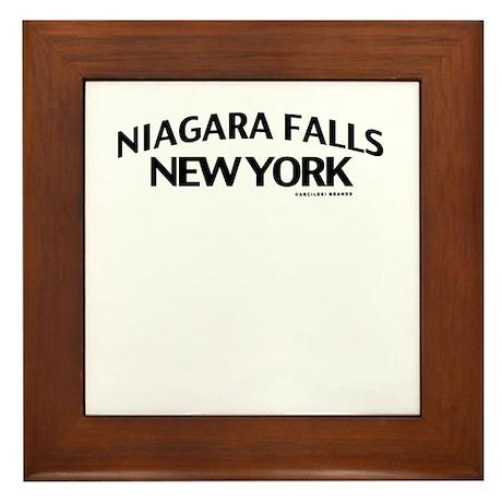 Niagara Falls Framed Tile