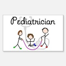 Physicians/Specialists Sticker (Rectangle 10 pk)