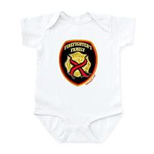 ThinRedLine FirefighterFamily Infant Bodysuit