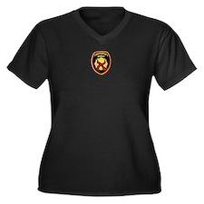 ThinRedLine FirefighterFamily Women's Plus Size V-