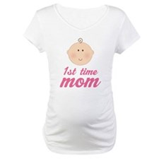 Cute First Time Mom Shirt