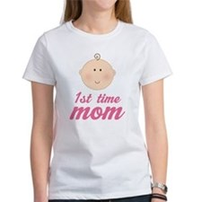 Cute First Time Mom Tee