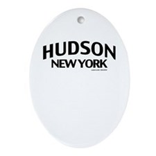 Hudson Ornament (Oval)