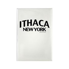 Ithaca Rectangle Magnet