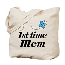 Pretty 1st Time Mom Tote Bag