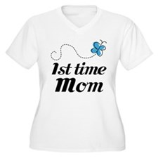 Pretty 1st Time Mom T-Shirt