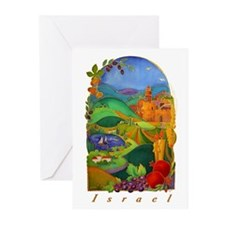 Land Of Israel Greeting Cards (Pk of 10)