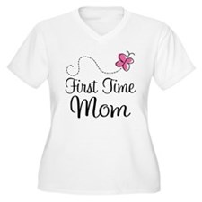 Fun 1st Time Mom T-Shirt