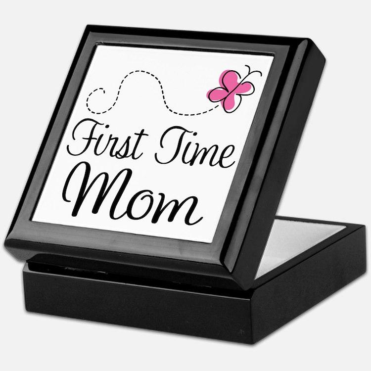 Fun 1st Time Mom Keepsake Box