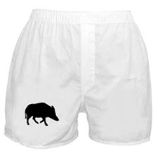 Wild pig - boar Boxer Shorts