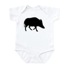 Wild pig - boar Infant Bodysuit