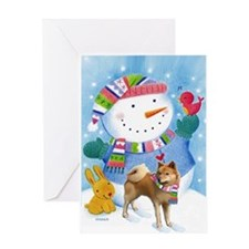 Finnish Spitz Greeting Card