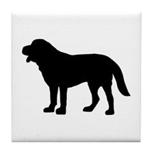 Saint Bernard Tile Coaster