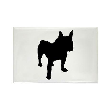 Bulldog Rectangle Magnet (10 pack)