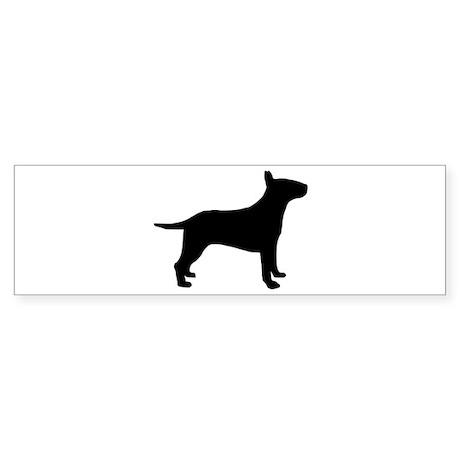 Bull terrier Sticker (Bumper)