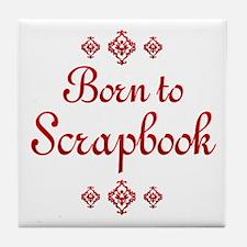 Scrapbook Tile Coaster