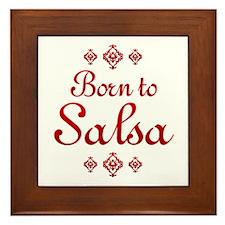 Salsa Framed Tile