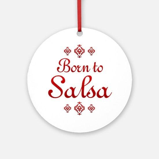 Salsa Ornament (Round)