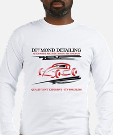 Car Cleaning Long Sleeve T-Shirt