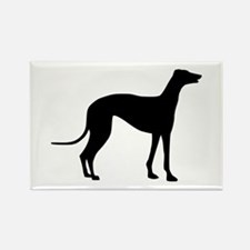 Greyhound Rectangle Magnet