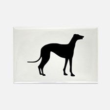 Greyhound Rectangle Magnet (10 pack)